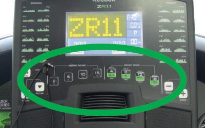 Máy chạy bộ điện Reebok ZR11